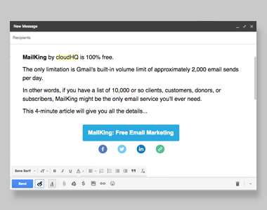 Html Editor For Gmail Cloudhq